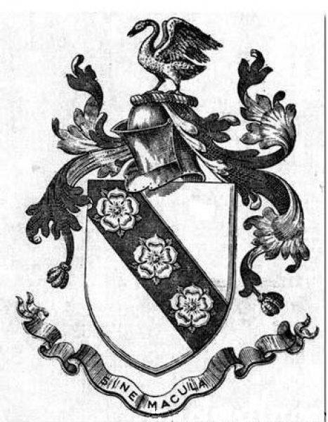 Devon and Anglo-Irish Cary arms