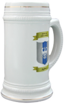 Print your family crest on a beer stein